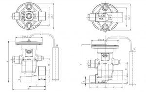 ابعاد اکسپنش ولو سری TCLE،پاور XB آلکو