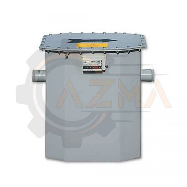 کنتور گاز دیافراگمی گازسوزان کد G25 / GS-77-025A-پیشرو صنعت آزما