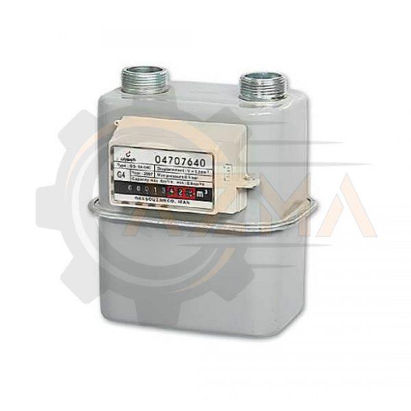 کنتور گاز دیافراگمی گازسوزان کد G4 / GS-84-04C-پیشرو صنعت آزما
