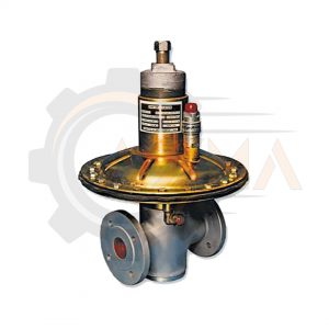 رگولاتور ( رگلاتور ) گاز صنعتی گازسوزان کد GS-74-H-پیشرو صنعت آزما