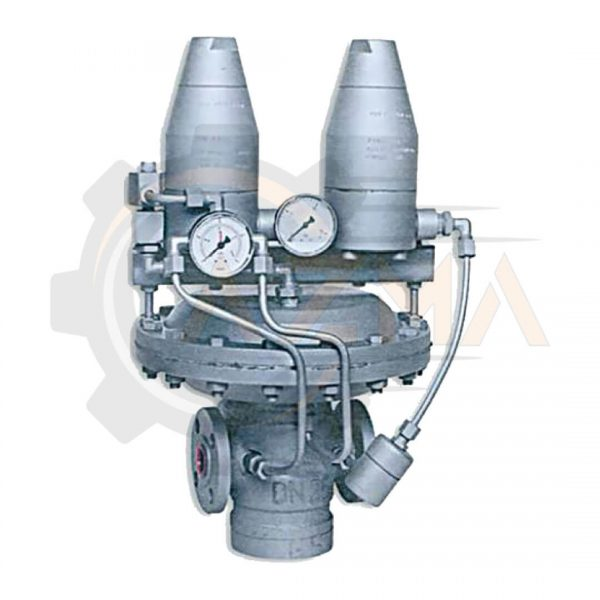 رگولاتور (رگلاتور) گاز صنعتی گازسوزان کد: GS-76-100-پیشرو صنعت آزما