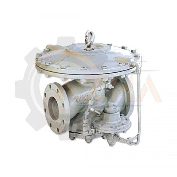 رگولاتور گاز گازسوزان کد: GS-76-80-پیشرو صنعت آزما
