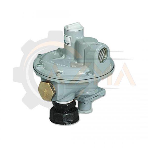 رگولاتور (رگلاتور) گاز خانگی گازسوزان کد: GS-84-01-پیشرو صنعت آزما