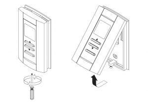 دستور العمل ترموستات اتاقی دیجیتال هانیول کد TB6980 / TB7980 - پیشرو صنعت آزما