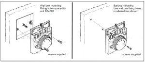 نحوه نصب ترموستات اتاقی هانیول T4360 / T6360 - پیشرو صنعت آزما