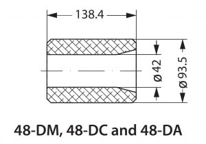 ابعاد فیلتر کر درایر دانفوس Danfoss - پیشرو صنعت آزما