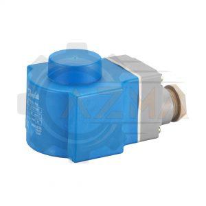 بوبین شیر برقی سوکت دار دانفوس Danfoss مدل BG012DS کد 018F6856 - پیشرو صنعت آزما