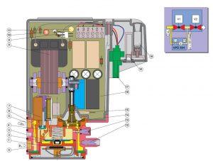 بخشهای مختلف نشت یاب گاز دانگز DUNGS مدل VPS 504 - پیشرو صنعت آزما