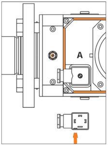اتصالات 2 نشت یاب گاز کروم شرودر krom schroder مدل CG 35-CG 45 - پیشرو صنعت آزما