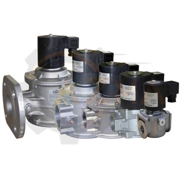 شیر برقی گاز (سلونوئید ولو) ماداس MADAS مدل EVP-EVPF - پیشرو صنعت آزما