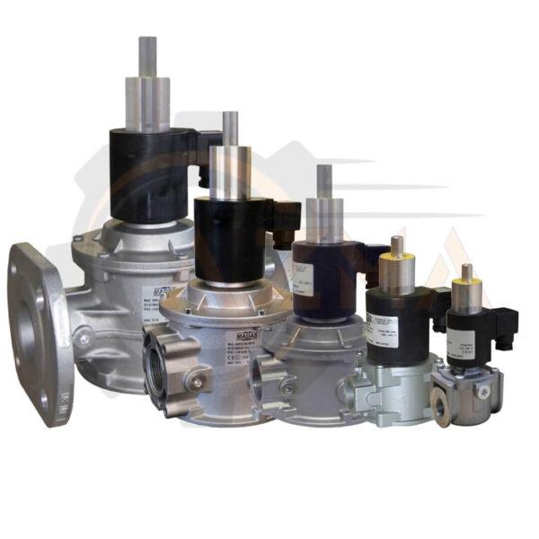 شیر برقی گاز (سلونوئید ولو) ماداس MADAS مدل EVPR-EVPCR - پیشرو صنعت آزما