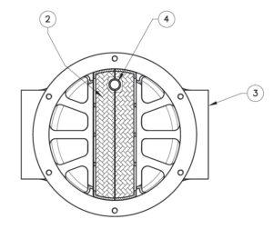 بخش مختلف 4 فیلتر گاز ماداس MADAS مدل FGM - پیشرو صنعت آزما