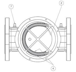 بخش مختلف 2 فیلتر گاز ماداس MADAS مدل FM - پیشرو صنعت آزما