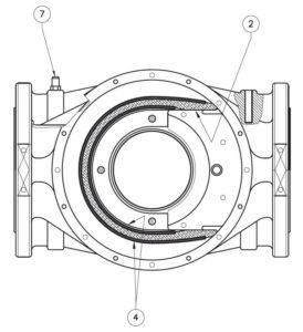 بخش مختلف 4 فیلتر گاز ماداس MADAS مدل FM - پیشرو صنعت آزما