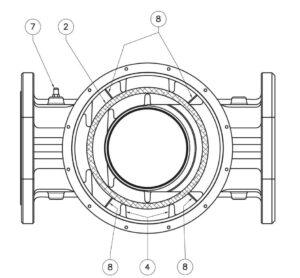 بخش مختلف 6 فیلتر گاز ماداس MADAS مدل FM - پیشرو صنعت آزما