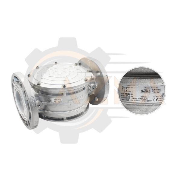 فیلتر گاز ماداس MADAS مدل FM - پیشرو صنعت آزما