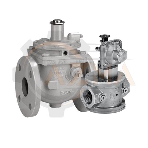 شات آف ولو گاز کروم شرودر krom schroder مدل JSAV - پیشرو صنعت آزما