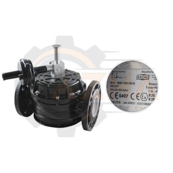 2 شات آف ولو (Shut off valve) ماداس MADAS مدل MVB - پیشرو صنعت آزما