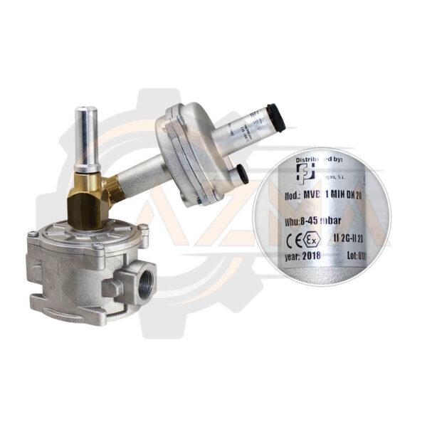 شات آف ولو (Shut off valve) ماداس MADAS مدل MVB - پیشرو صنعت آزما