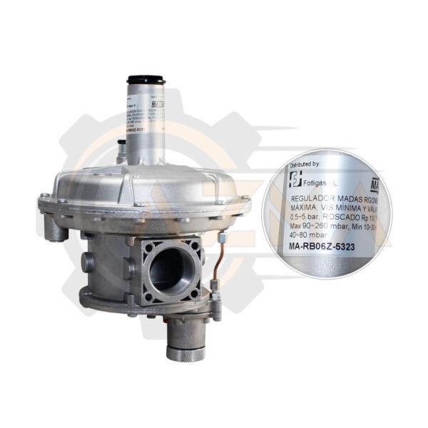 2 رگلاتور گاز ماداس MADAS مدل RG/2MCS - RG/2MBZ - پیشرو صنعت آزما