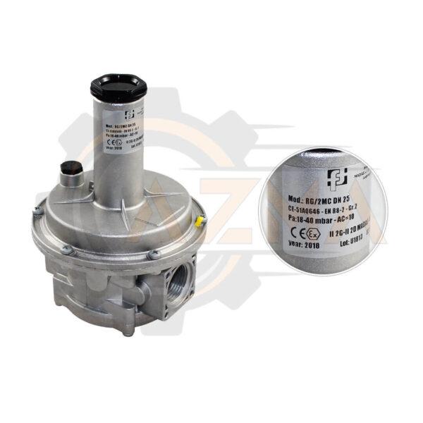 3 بالانسر گاز ماداس MADAS مدل RG/2MC - FRG/2MC - پیشرو صنعت آزما