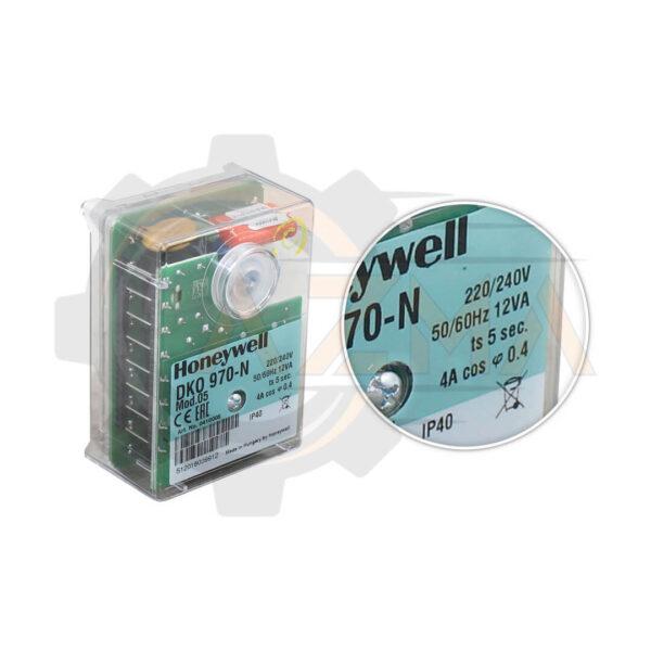 رله مشعل گازی هانیول Honeywell مدل DKO 970 یا DKO 972 - پیشرو صنعت آزما