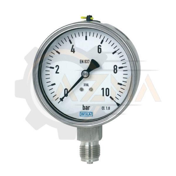 فشارسنج (مانومتر) ویکا WIKA مدل 232.50 , 233.50 - پیشرو صنعت آزما