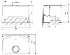ابعاد رله مشعل گازی زیمنس SIEMENS مدل LME 22 - پیشرو صنعت آزما