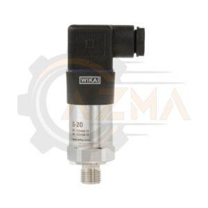 پرشر ترانسمیتر (سنسور فشار) ویکا WIKA مدل S-20 - پیشرو صنعت آزما