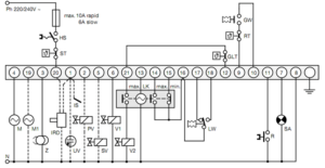 نقشه رله مشعل گازی شکوه Shokouh مدل G790 - پیشرو صنعت آزما