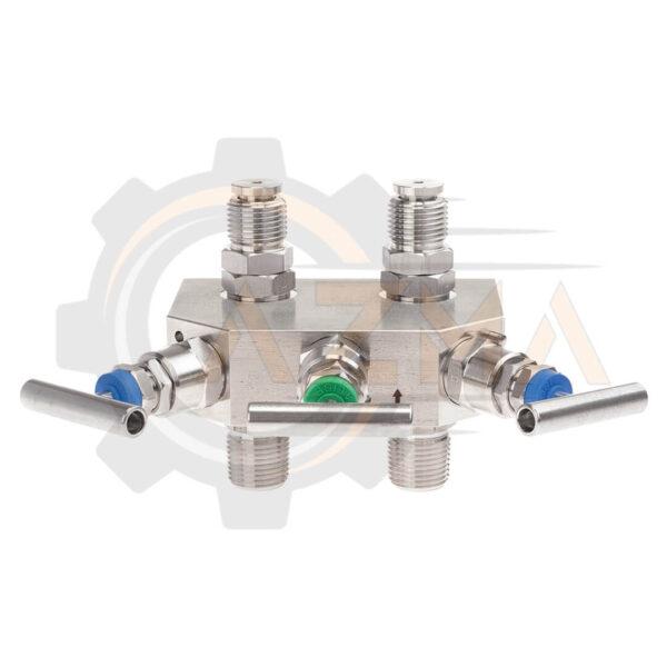 شیر سوزنی(شیر تخلیه) ویکا WIKA مدل IV30 ، IV31 - پیشرو صنعت آزما